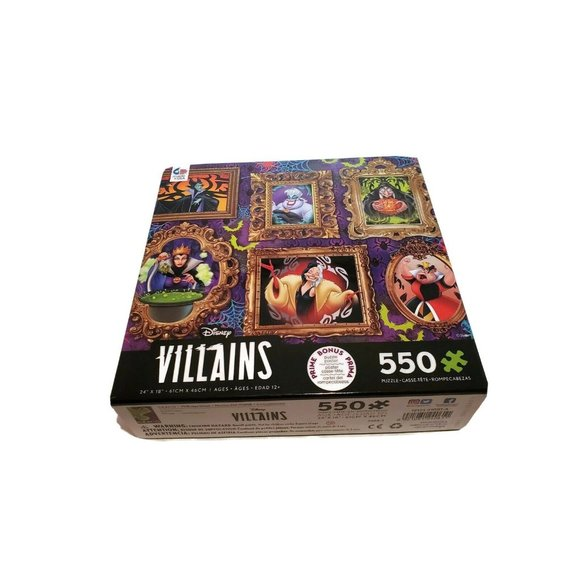 Disney Villains - Framed Paintings 550 Piece